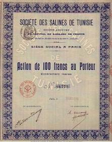 Sté des Salines de Tunisie