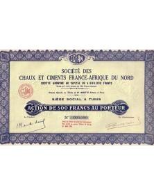 Sté des Chaux et Ciments France-Afrique du Nord