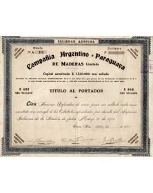 Compañia Argentino-Paraguaya de Maderas Limiteda