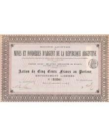 S.A. des Mines et Fonderies d'Argent de la République Argentine