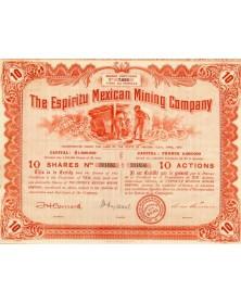 The Espiritu Mexican Mining Company
