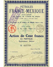 Pétroles France-Mexique