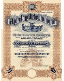 The Upper Egypt Irrigation Company