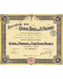 Sté du Grand Hôtel de St-Nazaire
