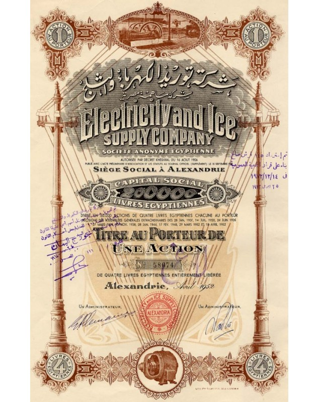 Electricity and Ice Supply Company