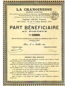 La Chanoinesse