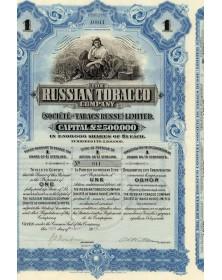Sté des Tabacs Russes - The Russian Tobacco Co.Sté des Tabacs Russes - The Russian Tobacco Co.