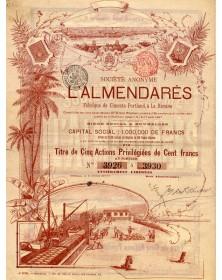 S.A. L'Almendarès, Fabrique de Ciments Portland à La Havane