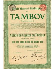 Sté Minière & Métallurgique du Tambov