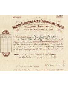 British Platinum & Gold Corp. Ltd.