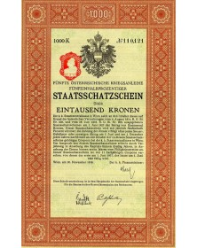 5è Emprunt de Guerre Autrichien 5,5%
