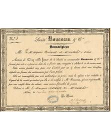 Sté Rousseau & Cie