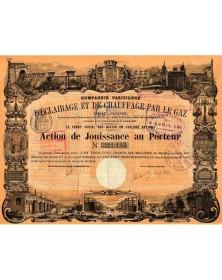 Cie Parisienne d'Eclairage & de Chauffage par le Gaz
