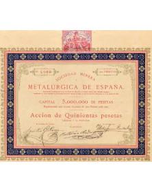 Sociedad Minera Metalurgica de España