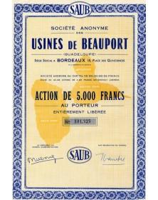 S.A. des Usines de Beauport (Guadeloupe)