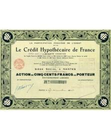 Le Crédit Hypothécaire de France