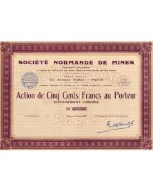 Sté Normande de Mines