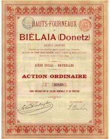 Hauts-Fourneaux de Biélaïna (Donetz)