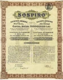 SOSPIRO - S.A. de Pétrole
