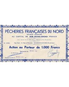 Pêcheries Françaises du Nord, S.A.