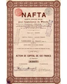 NAFTA S.A. Belge pour l'Exploitation du Pétrole