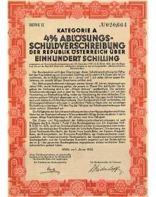 Emprunt 4% de la République d'Autriche