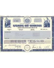 State of Hawaii - Airport System Revenue Bonds of 1984