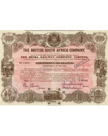 The British South Africa Co. The Beira Railway Co. Ltd