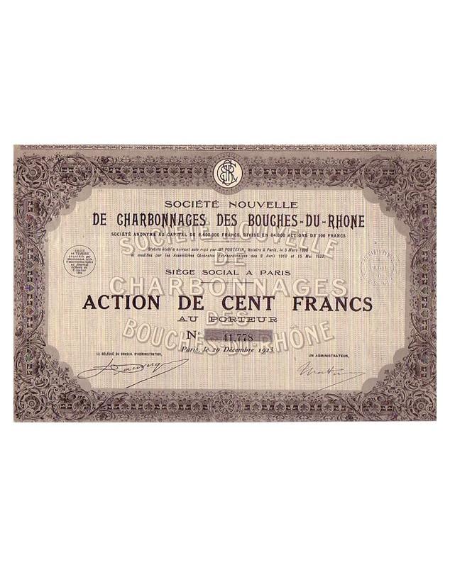 Charbonnages des Bouches-du-Rhône
