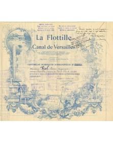 La Flottille du Canal de Versailles