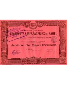 Sté Anonyme des Tramways & Messageries du Sahel