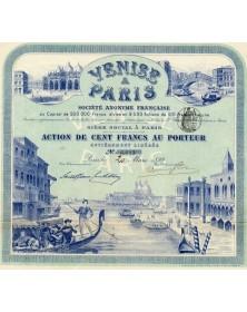 Venise à Paris, attraction Exposition Universelle de 1900