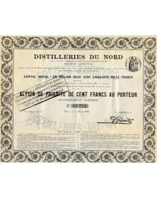 Distilleries du Nord (Anc. Cie Française des Alcools Dénaturés)