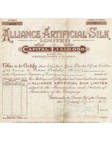 Alliance Artificial Silk Ltd.