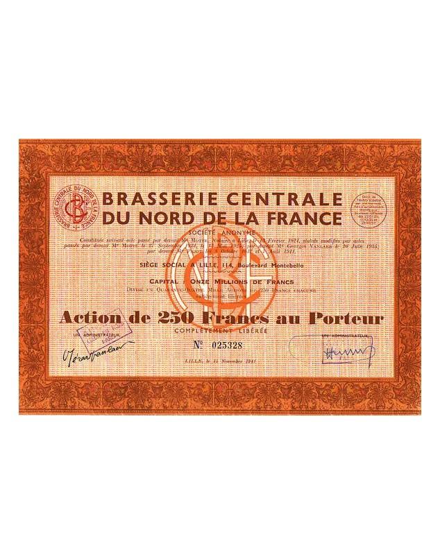 Brasserie Centrale du Nord de la France