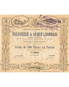 Cie du Chemin de Fer de Fourvière & Ouest-Lyonnais