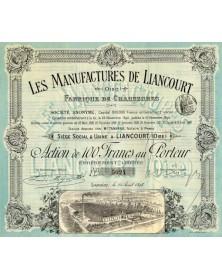 Les Manufactures de Liancourt (Oise)