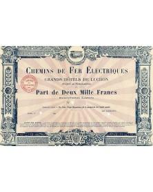 Chemins de Fer Electriques et Grands Hôtels de Luchon