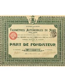 Cie des Taximètres Automobiles Du Nord