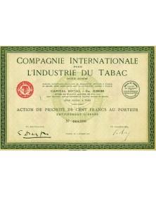 Cie Internationale pour l'Industrie du Tabac