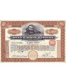 Mexico North Western Railway Co.