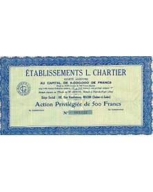 Etablissements L.Chartier