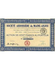 Sté Ardoisière du Maine - Anjou