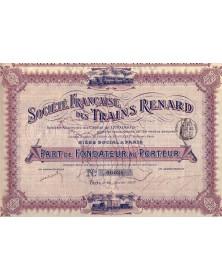 Sté Française des Trains Renard