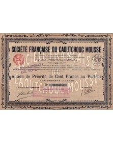 Sté Française du Caoutchouc Mousse