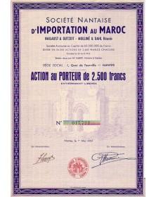 Sté Nantaise d'Importation au Maroc