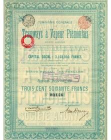 Cie Générale des Tramways à Vapeur Piémontais