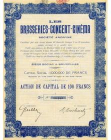 Les Brasseries-Concert-Cinéma