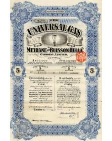 The Universal Gas -Methane and Buisson Hella Co. Ltd