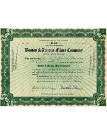 Boston & Arizona Mines Company